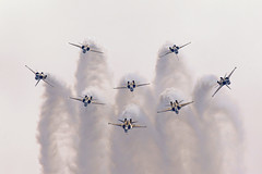 Korean Black Eagles display team at Singapore Airshow (RS Deakin) Tags: black team singapore display korea korean eagles t50