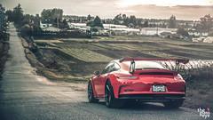 Porsche GT3 RS (TheGlassEye.ca) Tags: orange vancouver racecar 35mm canon sigma porsche supercar gt3 2470 gt3rs 5dmkiii