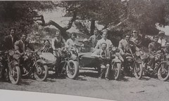 sunny sun-day at 1930s greece (a tear for you greece) Tags: bike vintage greek 1930s harley greece motorcycle henderson davidson fn riders bsa terrot motorists