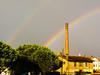 Adria insolita (alex.gb) Tags: rain rainbow unusual pioggia arcobaleno adria città insolito