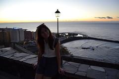 DSC_0216 (AmeliaAdkiins) Tags: ocean sunset sun lake sol beach me water de agua playa tenerife puestadesol puesta puertodelacruz oceano lagomartianez