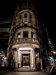 Wall Street at Night 8 (C@mera M@n) Tags: street new york city nyc newyorkcity nightphotography ny newyork wall night photography us unitedstates outdoor manhattan district places financialdistrict wallstreet financial delmonicos