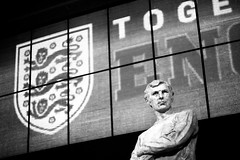 England + Bobby Moore (cchana) Tags: england english statue soccer 1966 player moore captain bobby worldcup legend wembley defender wembleystadium footballer footballplayer westhamunited westham bobbymoore thefa worldcupwinner