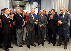 10-13-2015 Governor Bentley Tours Gnutti Carlo USA in Jacksonville