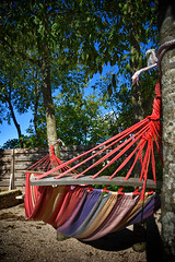 Hammock - Agrotourism Kalpic, near Lozovac and Krka National Park (vic_burton) Tags: door wood trees plants stone comfortable barn rural garden relax restaurant hotel pretty farm character traditional shed delicious hammock liquors bedandbreakfast accommodation dalmatian stay gravel authentic homely prut croatian ibenik stonecottages rakija smokedham homecookedmeals krkanationalpark dalmatiantavern agrotourismkalpic homemadewines