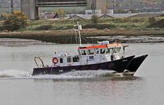 Yantlet (Hawkeye2011) Tags: uk boat marine ships maritime riverthames saltwater pla 2015 surveyvessel rainhammarsh yantlet