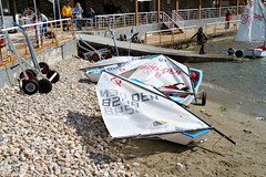 IMG_8773 (stig munchaus) Tags: sailing optimist vouliagmeni
