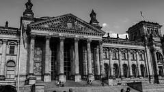 20150724-P1570875 (katharina_amari) Tags: blackandwhite berlin architektur schwarzweiss regierungsviertel bauten teufelsberg lostplaces beelitzerheilstätten