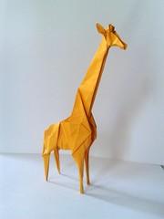 Giraffe (orig4mi.) Tags: paper origami giraffe fold