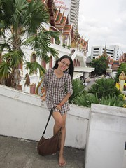 Wiparporn (Asian.Amour2) Tags: woman black cute sexy girl beautiful smile lady asian thailand happy hotel glasses asia pretty sweet bangkok gorgeous cutie thai shorts brunette oriental siam classy lampang