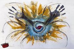 Eyecatcher - Freestyle Art  [ by nemoriko ] (nemoriko) Tags: art freestyle kunst graf dennis eyecatcher freistil freestyleart nemoriko nemorikode
