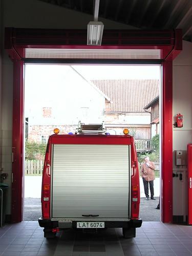 Скоростные ворота для пожарной части .  Hi speed doors. Efaflex.  Швидкісні ворота для пожежної частини. EPSN0011