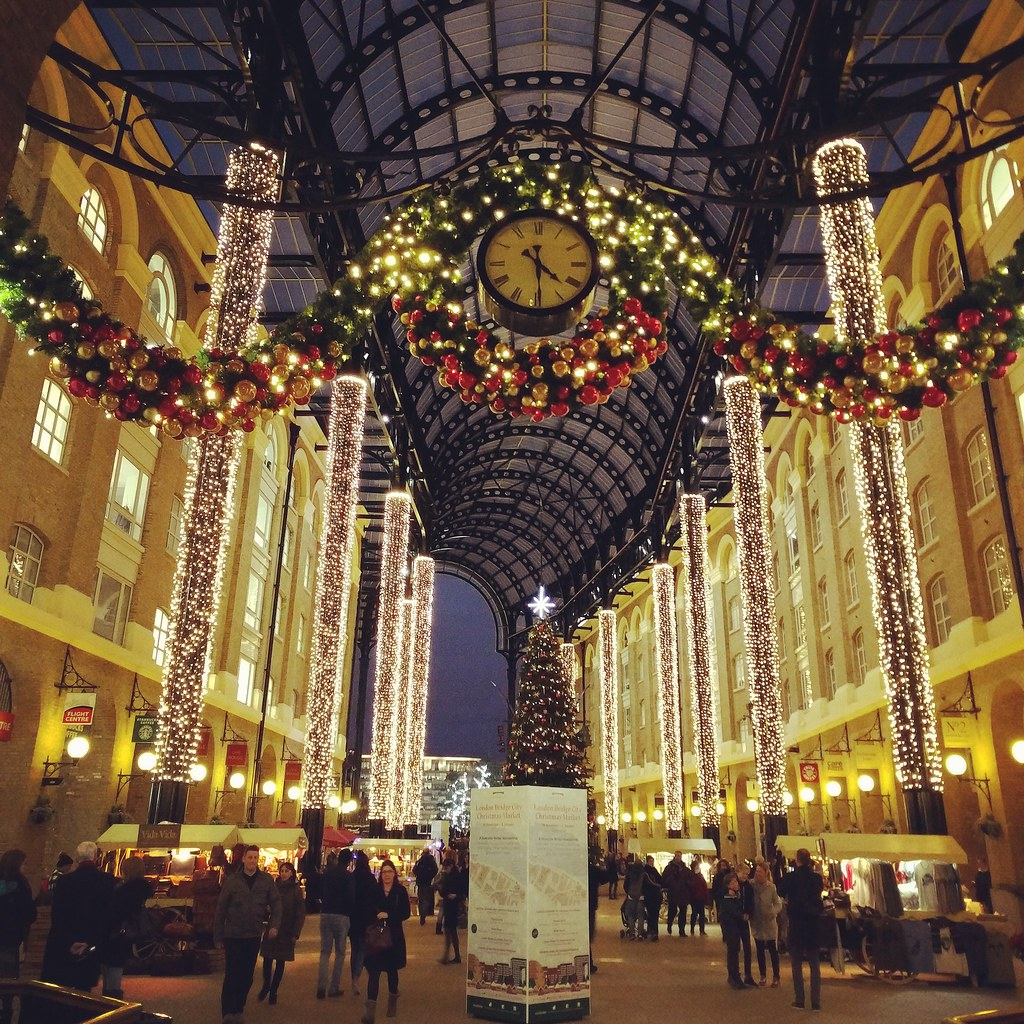 london christmas market hotels