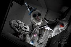 The Clown (Alex Redfield) Tags: horror creepy payaso clowns clown terror mystery fear photography