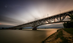 The Bridge (Piotr.Krol) Tags: bax poland bridge plock nd evening
