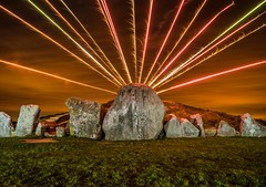 West Kennet Longbarrow (In=Sight) Tags: west kennet longbarrow wiltshire light painting neolithic ancient