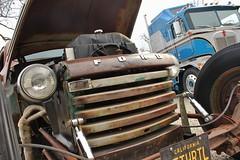 Art Center Car Classic 2016 (USautos98) Tags: 1949 ford towtruck hotrod streetrod custom rockabilly wrecker