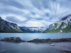 Lake Minnewanka (JP Roca) Tags: canada phaseone phaseonep25 mamiyaafd645 mamiya 35mm captureone8 banff lakeminnewanka minnewanka lake