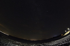 3 citys in one shot (Henrik DK-Photo) Tags: samyang8mmf35 fisheye night stars danmark