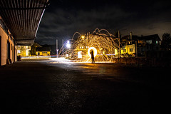Lightpainting (Zppndstr) Tags: weinstadt lightpainting