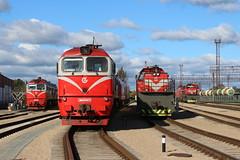 Lietuvos Geležinkeliai (Lithuanian Railways) - Radviliškis Depot (DarrenT857) Tags: lietuva lithuania 2m62 tem tmh lietuvos geležinkeliai radviliškis