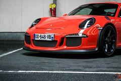 Porsche 991 GT3 RS (N.D pictures) Tags: porsche 991 gt3 rs 911 supercar spot orange parking rasso rassemblement nantes