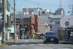 nagoya15980 (tanayan) Tags: urban town cityscape aichi nagoya japan nikon j1 road street alley    car toyota mirai automobile
