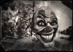 Happy Halloween! (drei88) Tags: creepyclown terror nightmare dark disturbing unsettling upset makeup