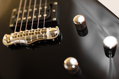 Black Beauty (Role Bigler) Tags: bridge canoneos5dsr gitarre guitar humbucker instrument musicalinstrument prs prstremontise se schroederwraparoundbridge tamronsp45mmf18divcusdf013 blackguitar bokeh bokehlicious electricguitar wraparound