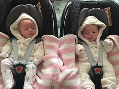 (rachelrowley88) Tags: family dayout 9weeks baby bestfriends maisie sophie sisters girls twins