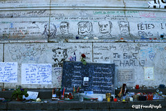 Column after Charlie Hebdo attack - What The French People (soleneelle) Tags: french english media policy france newspaper press demonstration liberty arts charlie hebdo paris colum