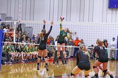 IMG_6895 (SJH Foto) Tags: girls volleyball high school allentown central catholic somerset team teen teenager net battle spike block action shot jump midair burst mode contact impact favourite