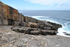 Le travail de l'Océan sur les couches de roche. (Claudia Sc.) Tags: jaizkibel pyrénées paysbasque pirineos basquecountry océan ocean atlantique rochers espagne españa spain érosion