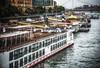 Budapest (Dennis Herzog) Tags: europe hungary budapest danube danuberiver boats tourboats riverboats cruise cruises rivercruises riverfront