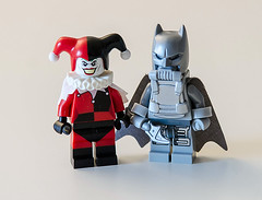 Lego DC Earth-3 : Owlman and The Jester (Mr_Red_2001) Tags: lego dc owlman thejester earth3