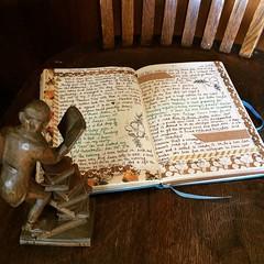Journal Writing Nov. 14, 2016 (Kathryn Zbrzezny) Tags: journal journalwriting journaling visualjournal visualdiary write writing handwritten handwriting leuchtturm1917 dailywriting