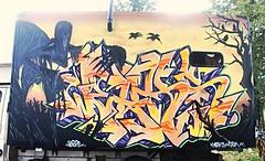 """festival """"la vallee de l'iroquois"""" 2016 (weaks oner) Tags: weaks weeks gek graffiti graff m2m harry potter les reliques de la mort vallee iroquois duerne 2016"""
