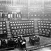 Dáil Chamber silent and empty