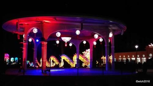 China light Antwerp Zoo
