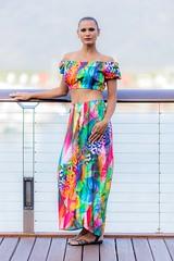 Free Spirit Crop Top Long Wrap Skirt in Rainbow Leopard (sajeelajamie1) Tags: benitawilliams rainbowleopard longwrapskirt wrapskirt blakmodelmanagement peterbrown sajeelajamie croptop freespirittop
