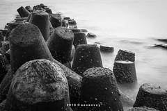 #bali #bw #canon #beach #indonesia (veyseven) Tags: canon indonesia bali beach bw
