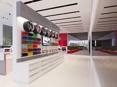 8 (Stephen Trinh) Tags: noi that showroom kia mazda interior design