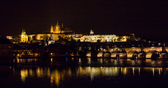 Prague Castle (romanboed) Tags: castle hrad mala strana hradcany karluv most charles bridge night vltava reka river moldau leica m 240 summilux 50 europe czech republic czechia bohemia prague cesko ceska republika praha hlavni city cityscape travel tourism architecture praag prag praga