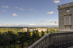 View From Palacio Real Madrid - 2 (rschnaible) Tags: palacio real madrid palace government building architecture history historic spain view landscape cityscape outdoor