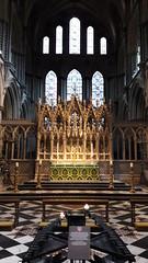 Ely Cathedral high altar, Cambridgeshire (Pjposullivan1) Tags: elycathedral cambridgeshire anglican altar reredos chancel highaltar