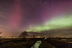 A Stable Auroral Red Arc 21:20hrs? (john.purvis) Tags: auroraborealis northernlights