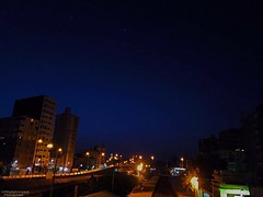 Mansoura Egypt. iPhone 6s Photo (abdelmoezmohamed) Tags: photo iphonephotography bleusky sky stars star bleu yellow light bridge favorite relax relaxing calmness calm night iphonegraphy iphone iphone6s iphonephoto photooftheday photographer photography mansouraegypt mansoura egypt