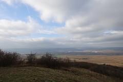 Friedenskreuz: Blick auf das Rheintal
