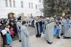 11. Arrival of Sanctities at Lavra / Прибытие святынь в Лавру 01.12.2016