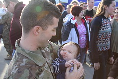 Utah National Guard (The National Guard) Tags: utahnationalguard utah ut utng welcome home homecoming deployed deployment iraq airborne families family child children kids parent milfam greeting greets hugs nationalguard national guard ng military troops guardsman guardsmen soldier soldiers airmen airman us army air force united states america usa 2016 father son baby